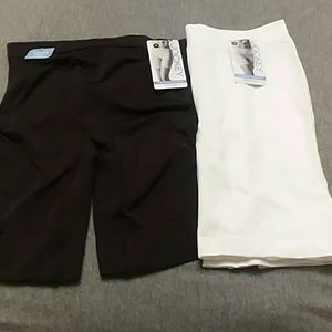 NWT $42 JOCKEY Slipshorts Skimmies Set of 2 Medium